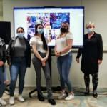 Studenten namen de uitdaging aan… 11