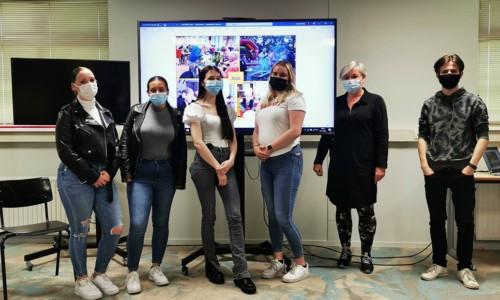 Studenten namen de uitdaging aan… 5